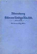 Thumbnail image of Siloam Lodge, No. 276, 1920 Directory cover