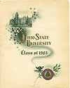 Thumbnail image of Ohio State University 1905 Commencement cover