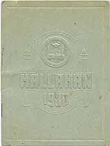 Thumbnail image of Hallahan Girls' High School 1930 Commencement cover