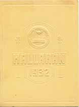 Thumbnail image of Hallahan Girls' High School 1932 Commencement cover