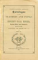 Thumbnail image of Chauncy-Hall School 1874 Catalogue cover