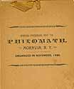 Thumbnail image of Philomath 1897-98 Annual Program cover