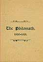 Thumbnail image of Philomath 1900-01 Annual Programme cover