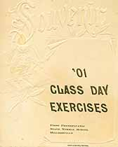 Thumbnail image of First Pennsylvania State Normal School 1901 Class Day cover