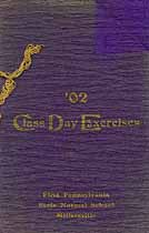 Thumbnail image of First Pennsylvania State Normal School 1902 Class Day cover