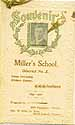 Thumbnail image of Miller's School 1899-1900 Souvenir cover