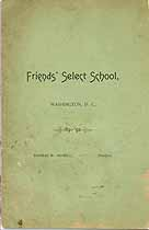 Thumbnail image of Friends' Select School 1891-92 Catalogue cover
