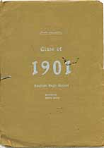 Thumbnail image of English High School Class of 1901 cover