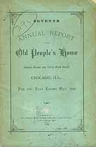 Thumbnail image of Chicago Old People's Home 1880 Report cover