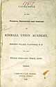 Thumbnail image of Kimball Union Academy 1837 Catalogue cover