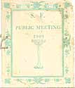 Thumbnail image of S. F. Public Meeting 1909 cover