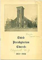 Thumbnail image of Third Presbyterian Church 1851-1926 cover