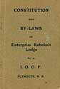 Thumbnail image of Enterprise Rebekah Lodge No. 46, I.O.O.F. Members cover