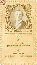 Thumbnail image of Washington Co. School 1901 Souvenir cover