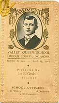 Thumbnail image of Valley Queen School 1902-1903 Souvenir cover