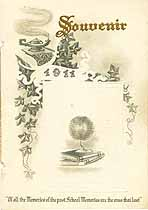 Thumbnail image of Pleasant Grove School 1911 Souvenir cover