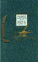 Thumbnail image of Watertown High School 1926 Commencement cover