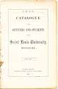 Thumbnail image of St. Louis University 1857-58 Catalogue cover