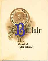 Thumbnail image of Buffalo Dental Dept. 1910 Commencement cover
