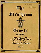 Thumbnail image of The Strathcona Oracle 1928-29 Year Book cover