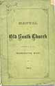 Thumbnail image of Old South Church 1877 Manual cover