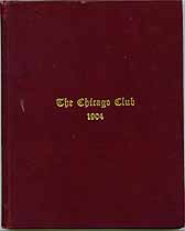 Thumbnail image of The Chicago Club 1904 cover