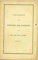 Thumbnail image of New York Free Academy 1856-7 Catalogue cover