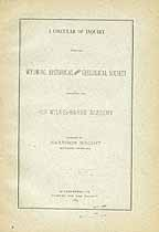 Thumbnail image of Old Wilkes-Barre Academy 1883 Inquiry cover