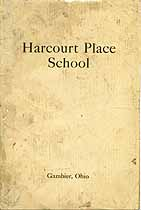 Thumbnail image of Harcourt Place School 1923 Catalogue cover
