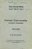 Thumbnail image of Union University Bulletin, Volume IV, Number 2 cover