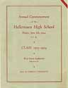 Thumbnail image of Hellertown High School 1923-1924 Commencement cover
