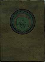 Thumbnail image of Acorn Souvenir 1923 Yearbook cover