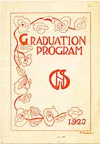 Thumbnail image of Gloucester School 1923 Graduation cover