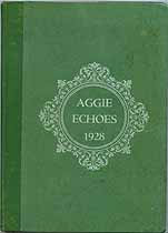 Thumbnail image of Aggie Echoes 1928 Yearbook cover