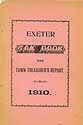 Thumbnail image of Exeter 1910 Tax Book and Report cover