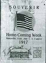 Thumbnail image of Hunstville 1917 Home-Coming Week Souvenir cover