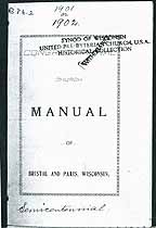 Thumbnail image of Congregational Church 1899 Manual cover