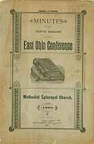 Thumbnail image of ME Church East Ohio Conference 10th Session cover