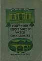 Thumbnail image of Delaware Board of Water Commissioners 1918 Report cover