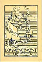 Thumbnail image of St. Paul Central High 1929 Graduation Program cover