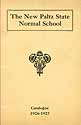 Thumbnail image of New Paltz Normal School 1926-1927 Catalogue cover