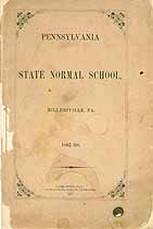 Thumbnail image of Pennsylvania State Normal School 1867-68 Catalogue cover