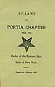 Thumbnail image of Portia Chapter, No. 235 O.E.S. cover