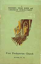 Thumbnail image of Keyser First Presbyterian Church Directory cover