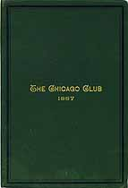 Thumbnail image of The Chicago Club 1887 cover