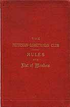 Thumbnail image of The Fettesian-Lorettonian Club 1888 Members cover