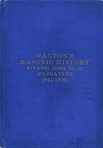 Thumbnail image of Walton's Masonic History 1841-1896 cover