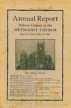 Thumbnail image of Athens Methodist Church 1921 Annual Report cover