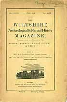 Thumbnail image of The Wiltshire Arch. & Nat. Hist. Magazine, June 1928 Issue cover