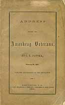 Thumbnail image of Amoskeag Veterans 1855 Membership cover